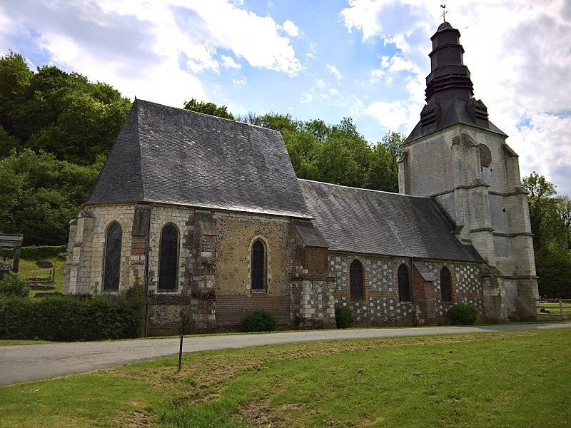 Photo du Monument Historique Eglise Saint-Vast d'Agnières situé à Hescamps