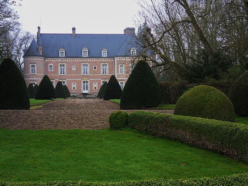 Photo du Monument Historique Château situé à Huppy