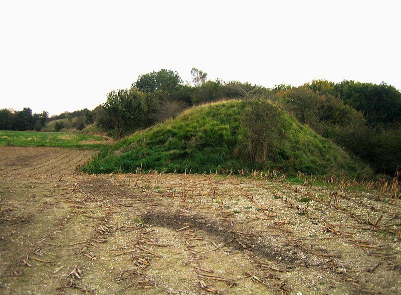 Photo du Monument Historique Camp romain (également sur commune de Erondelles) situé à Liercourt