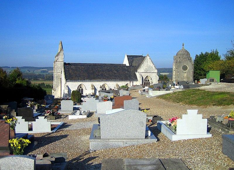 Photo du Monument Historique Eglise situé à Liercourt