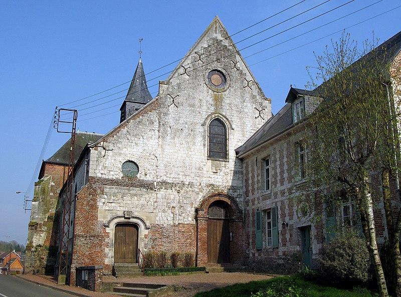 Photo du Monument Historique Eglise situé à Lucheux