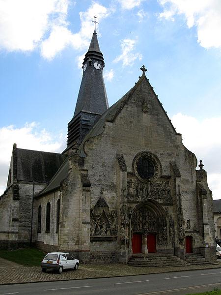 Photo du Monument Historique Eglise Saint-Pierre situé à Mailly-Maillet