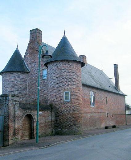 Photo du Monument Historique Manoir situé à Miannay