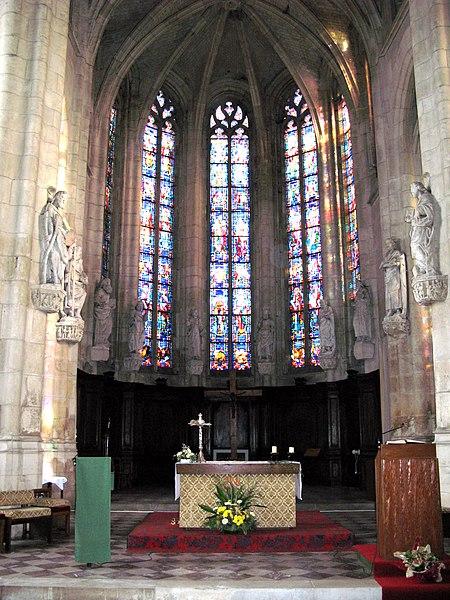 Photo du Monument Historique Eglise Saint-Sépulcre situé à Montdidier