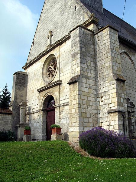 Photo du Monument Historique Eglise Saint-Martin de Namps-au-Val situé à Namps-Maisnil