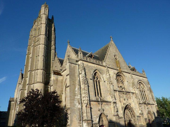 Photo du Monument Historique Eglise Saint-Jean situé à Péronne