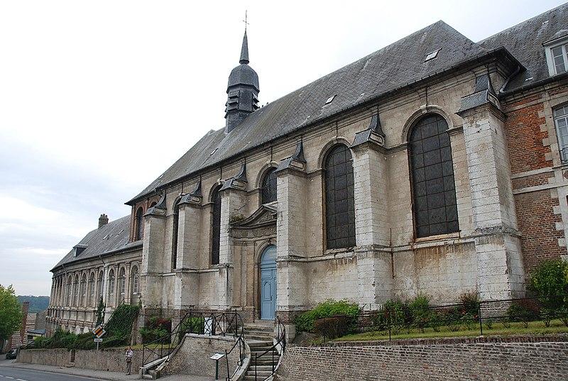Photo du Monument Historique Hospice situé à Saint-Riquier