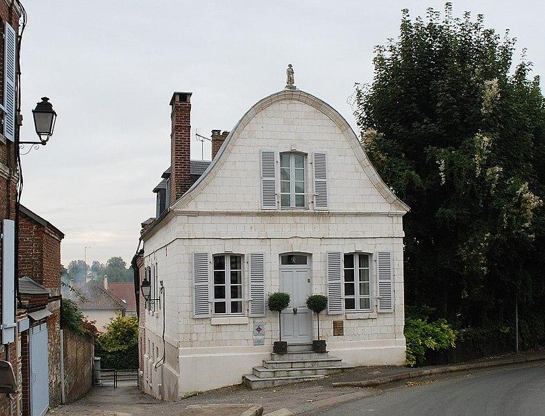 Photo du Monument Historique Maison dite de Napoléon Ier situé à Saint-Riquier