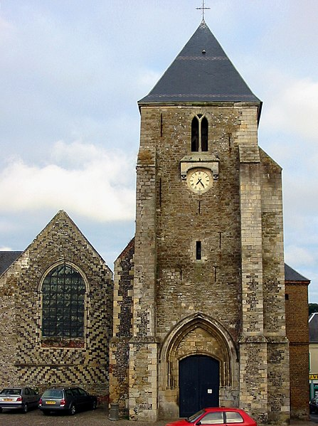 Photo du Monument Historique Eglise Saint-Martin situé à Saint-Valery-sur-Somme