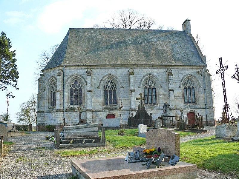 Photo du Monument Historique Chapelle Saint-Lambert situé à Sentelie