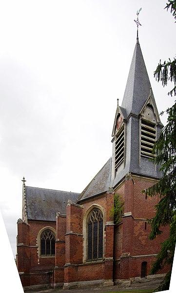Photo du Monument Historique Eglise Notre-Dame de Lorette situé à Tilloloy