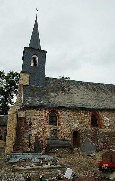 Photo du Monument Historique Eglise situé à Toeufles