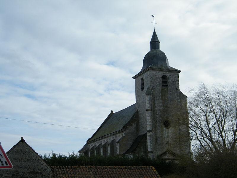 Photo du Monument Historique Eglise Saint-Martin situé à Vitz-sur-Authie