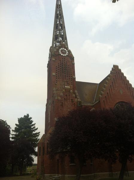 Photo du Monument Historique Eglise Saint-Pierre de Lamotte situé à Lamotte-Warfusée