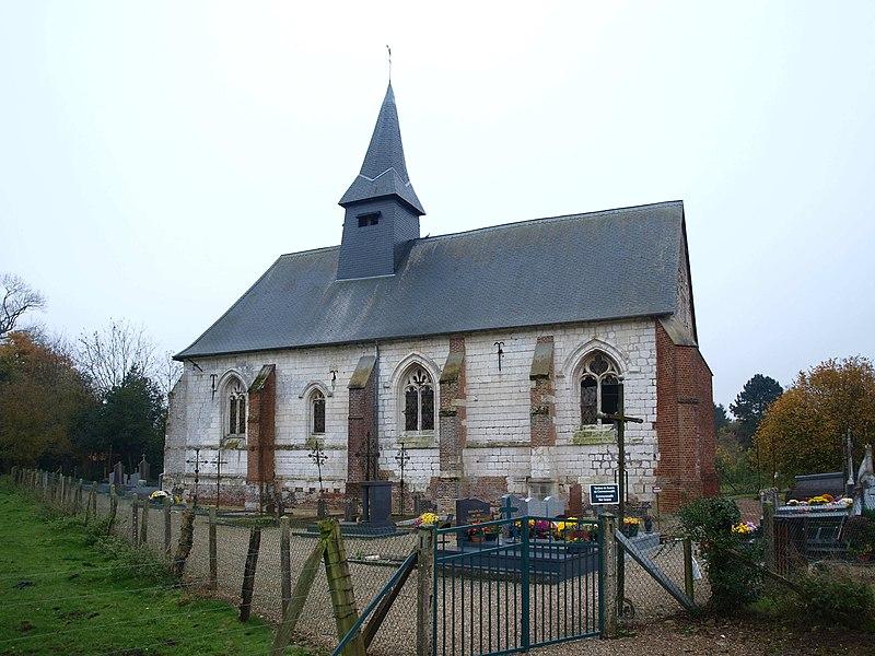 Photo du Monument Historique Eglise Saint-Aubin de Boëncourt situé à Béhen