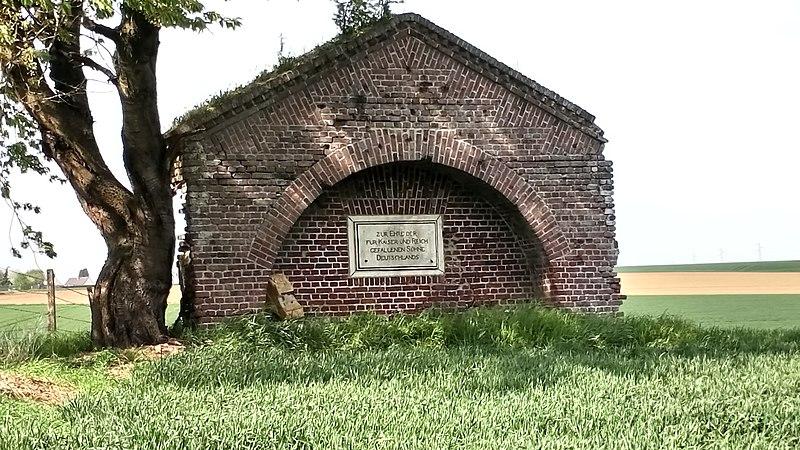 Photo du Monument Historique Monument allemand situé à Flaucourt