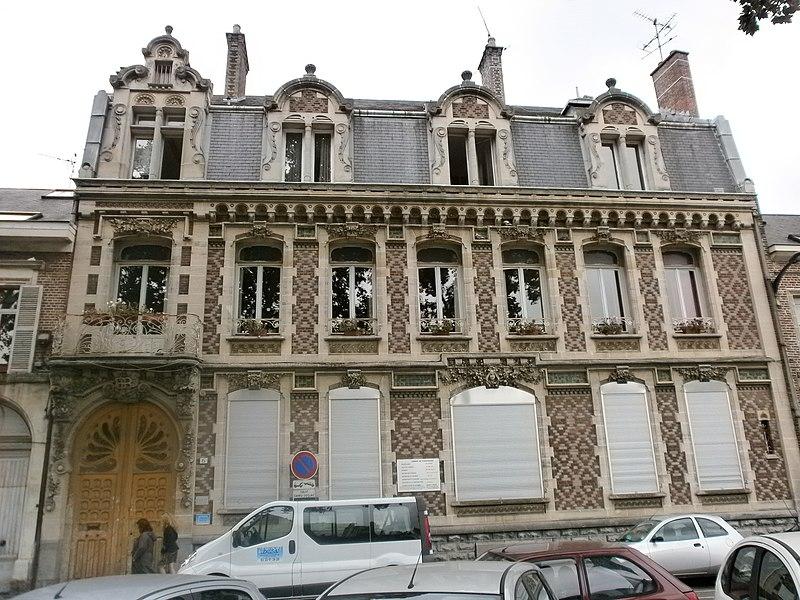 Photo du Monument Historique Hôtel Bullot situé à Amiens