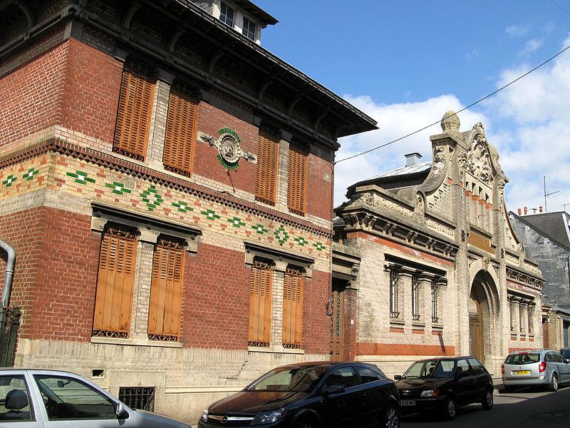 Photo du Monument Historique Bains-Douches situé à Abbeville