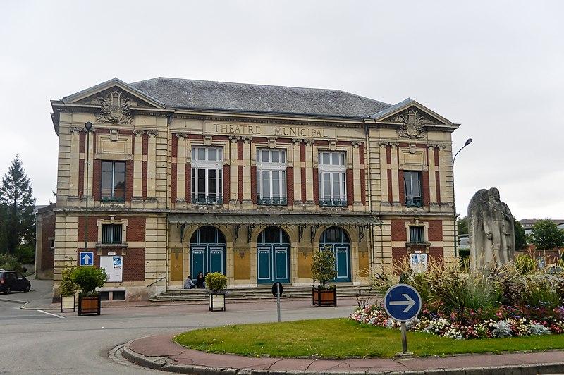 Photo du Monument Historique Théâtre municipal situé à Abbeville