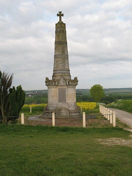 Photo du Monument Historique Colonne Faidherbe situé à Pont-Noyelles