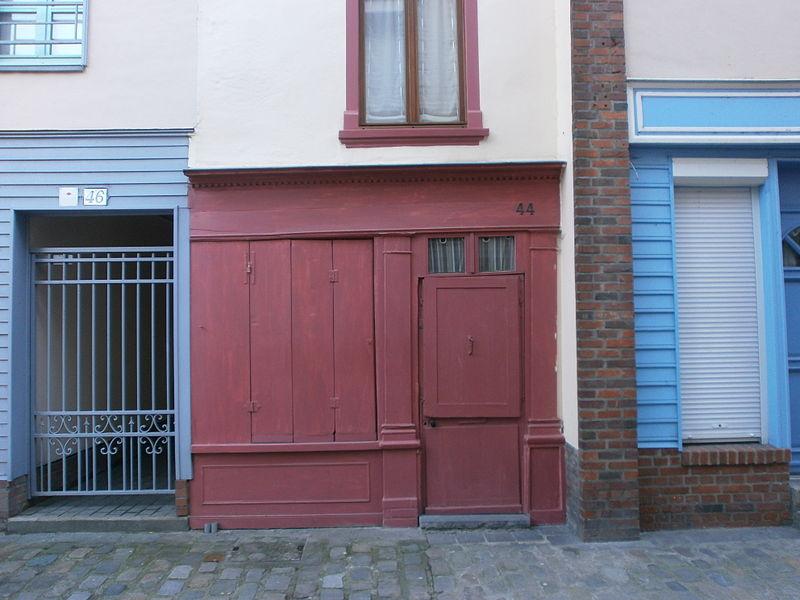 Photo du Monument Historique Onze maisons anciennes du quartier Saint-Leu situé à Amiens
