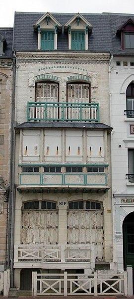Photo du Monument Historique Villa Rip situé à Mers-les-Bains