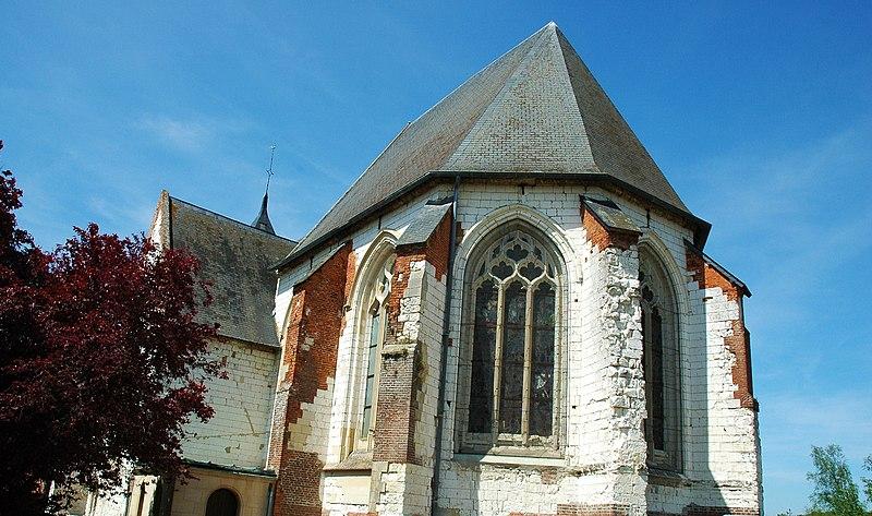 Photo du Monument Historique Eglise Saint-Denis situé à Senarpont