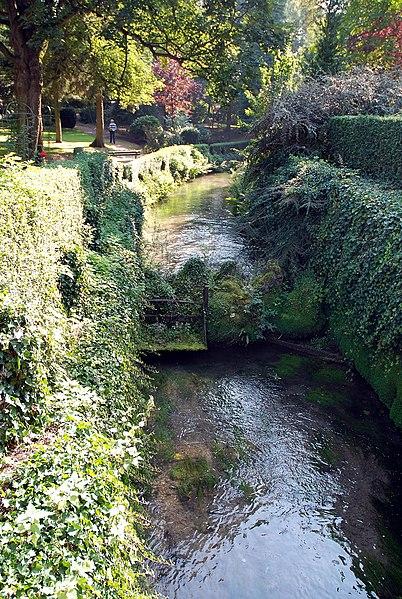 Photo du Monument Historique Jardin public situé à Albert