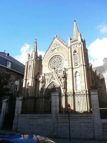 Photo du Monument Historique Ecole du Sacré-Coeur situé à Amiens