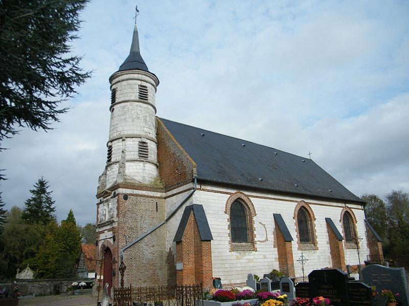 Photo du Monument Historique Eglise Saint-Martin situé à Millencourt-en-Ponthieu
