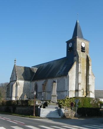 Photo du Monument Historique Eglise Saint-Martin situé à Regnière-Ecluse