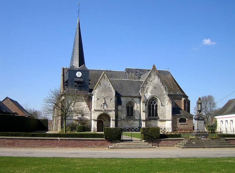 Photo du Monument Historique Eglise Saint-Vincent situé à Saint-Maxent