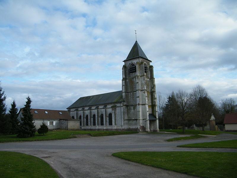 Photo du Monument Historique Eglise Saint-Martin situé à Yvrench