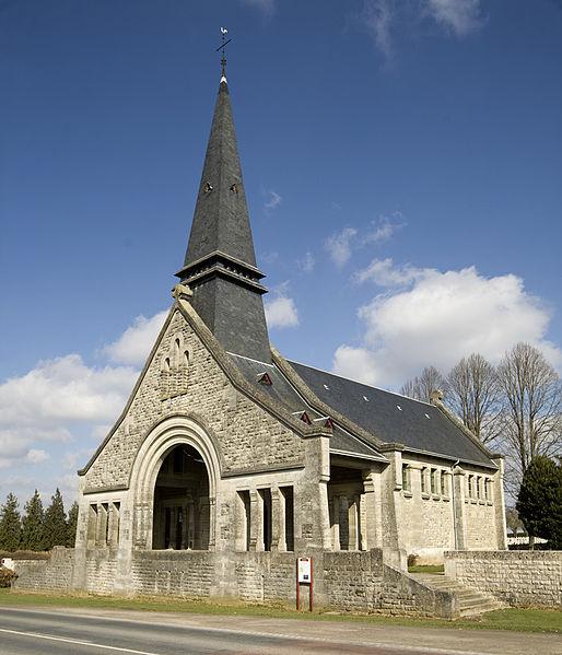 Photo du Monument Historique Chapelle du Souvenir français situé à Bouchavesnes-Bergen