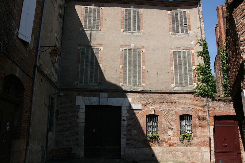 Photo du Monument Historique Ancien hôtel du Bosc (maison natale du peintre Henri de Toulouse-Lautrec) situé à Albi