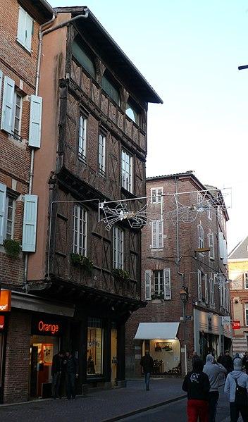 Photo du Monument Historique Immeuble situé à Albi
