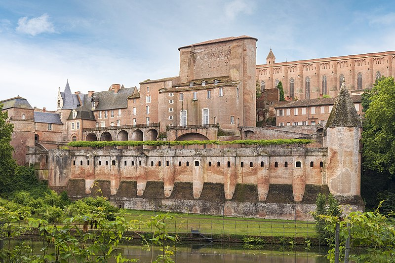 Photo du Monument Historique Palais de l'Archevêché ou de la Berbie situé à Albi