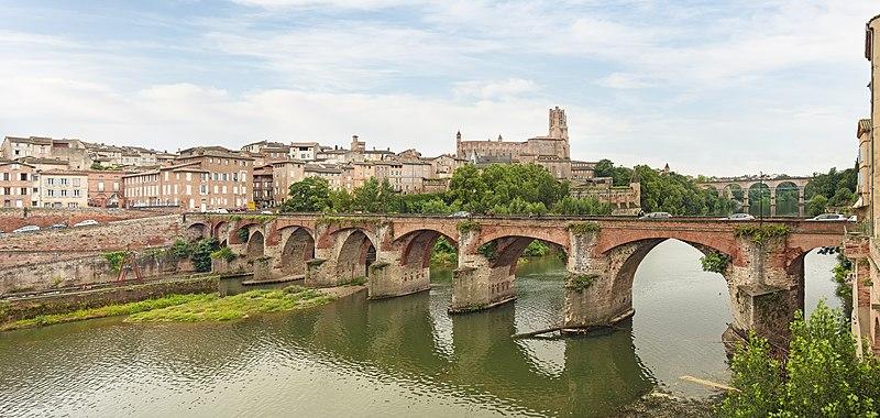 Photo du Monument Historique Vieux pont situé à Albi