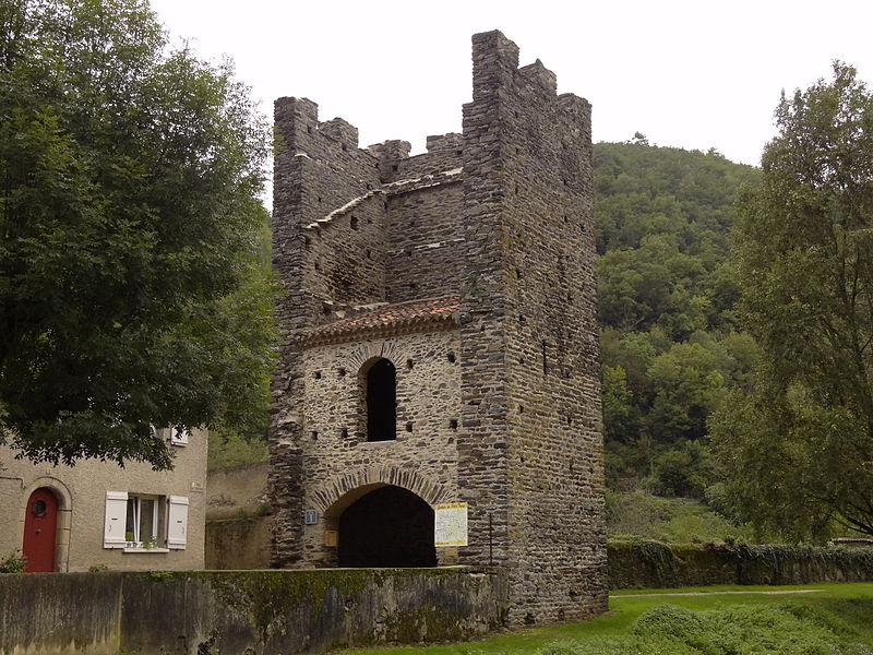 Photo du Monument Historique Tour de la Vistoure situé à Burlats