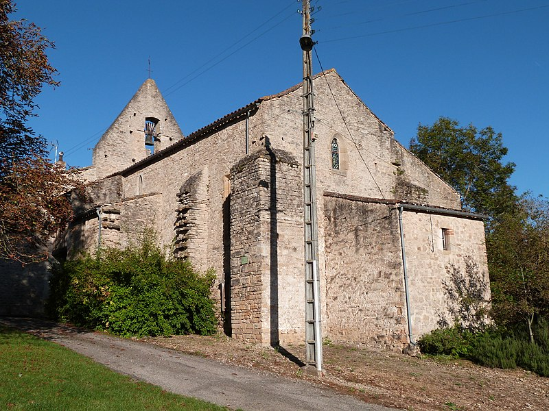 Photo du Monument Historique Eglise Saint-Antoine situé à Cabannes (Les)