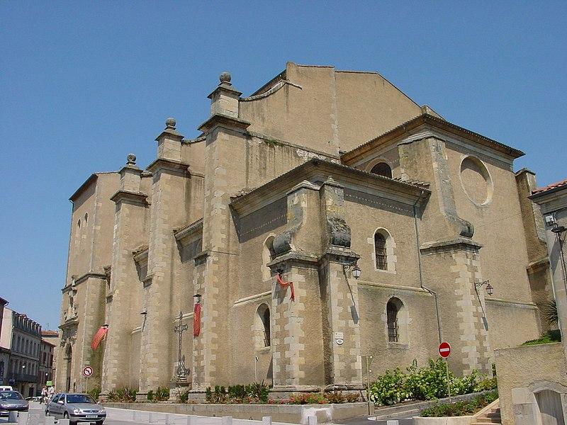 Photo du Monument Historique Eglise Saint-Benoît (ancienne cathédrale) situé à Castres