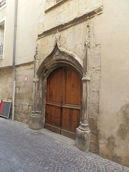 Photo du Monument Historique Maison situé à Castres
