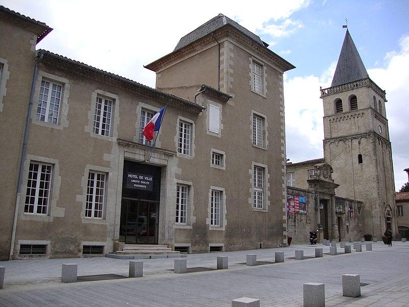Photo du Monument Historique Ancien palais épiscopal situé à Castres