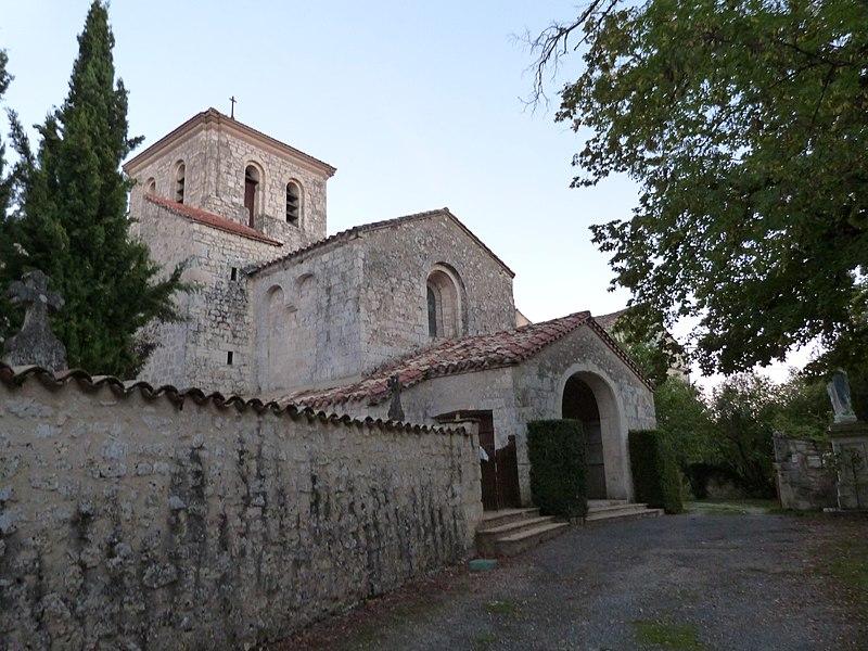 Photo du Monument Historique Eglise Notre-Dame de Roumanou situé à Cestayrols