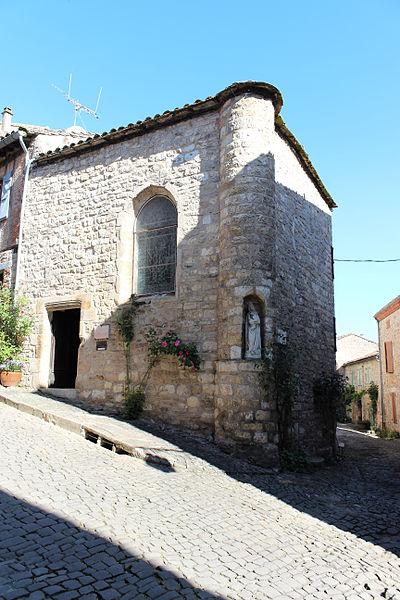 Photo du Monument Historique Ancien hôpital Saint-Jacques situé à Cordes-sur-Ciel