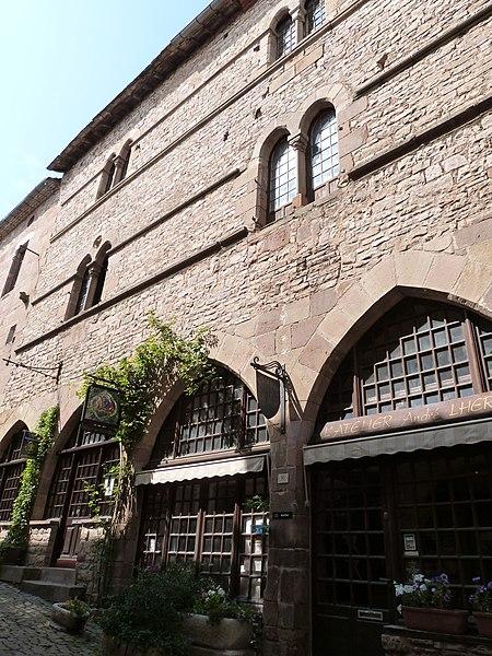 Photo du Monument Historique Immeuble situé à Cordes-sur-Ciel