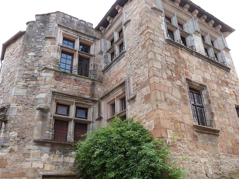 Photo du Monument Historique Maison Goorsse situé à Cordes-sur-Ciel