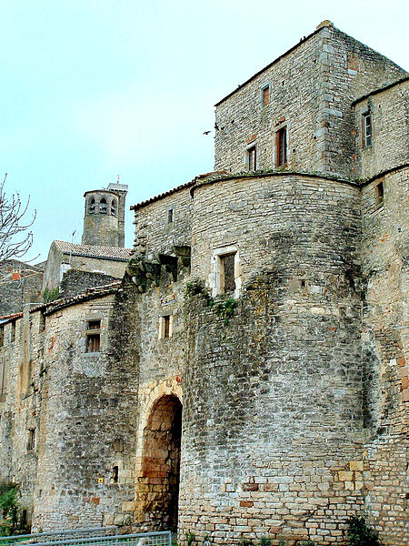 Photo du Monument Historique Porte de la Jane situé à Cordes-sur-Ciel
