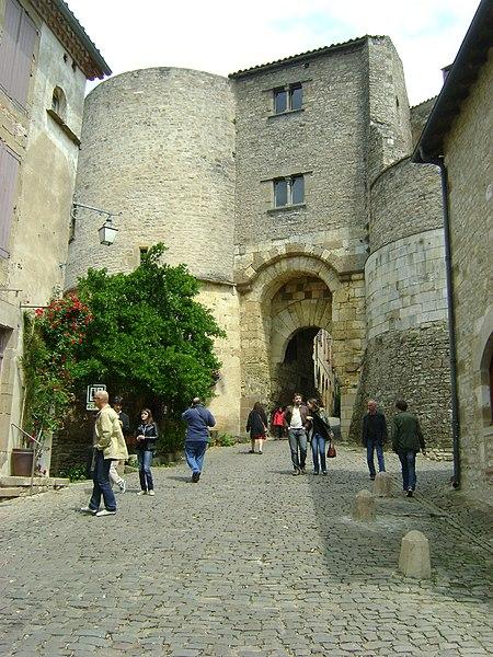 Photo du Monument Historique Porte de ville, dite Porte des Ormeaux situé à Cordes-sur-Ciel