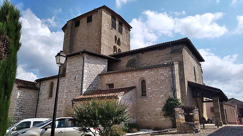 Photo du Monument Historique Eglise Notre-Dame situé à Dénat